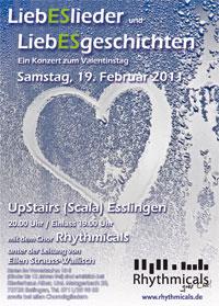 Flyer zum Valentinskonzert